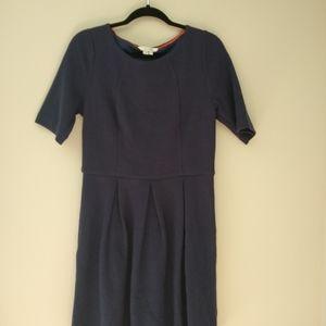 Boden Navy A Line Knee Length Dress size 12